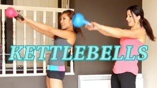 Kettlebell Workout for Beginners | Invade London by blogilates