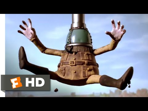 Wallace & Gromit: The Curse of the Were-Rabbit (2005) - The Bunny Vacuum Scene (2/10) | Movieclips
