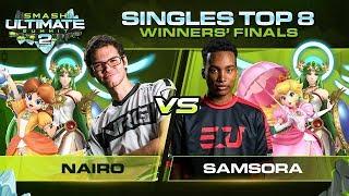 Nairo Vs Samsora   Singles: Winners Finals   Ultimate Summit 2 | Daisy, Palutena Vs Palutena, Peach