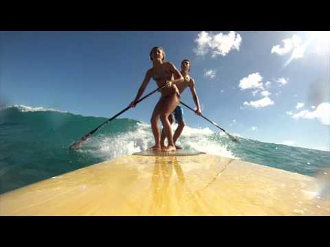 KM Boards: Tandem SUP with Vanina Walsh and Cody Huf