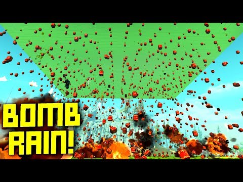 I Made it Rain TNT and it was GLORIOUS! - Scrap Mechanic Gameplay
