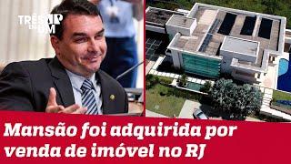 Flávio Bolsonaro se pronuncia a respeito da compra de mansão em Brasília