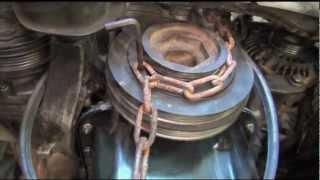 Remove/install Crankshaft Pulley Bolt on Honda