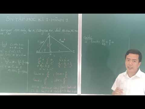 Ôn tập hình học I - Hình học 9 ( Thầy Quý THCS TT CAO THƯỢNG )