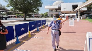 The ReOpening Day Of EPCOT - Disney Theme Park / Return To World Showcase & Future World July 2020