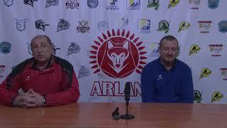 Пресс-конференция «Арлан»- «Кулагер». ОЧРК 2017-2018