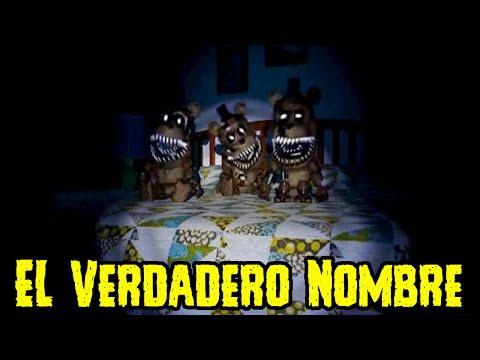 ¿Cual Es El Nombre REAL De Los Mini freddys De Five Nights At Freddy's 4? | FNAF 4