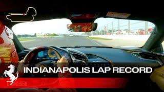 [오피셜] Ferrari SF90 Stradale – Indianapolis Lap Record