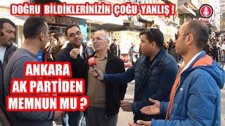 Ankara Ak Partiden Memnun mu Diye Sorunca Tartışma Çıktı.