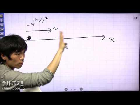 マギーのわくわく物理ランド part2(速度,加速度)