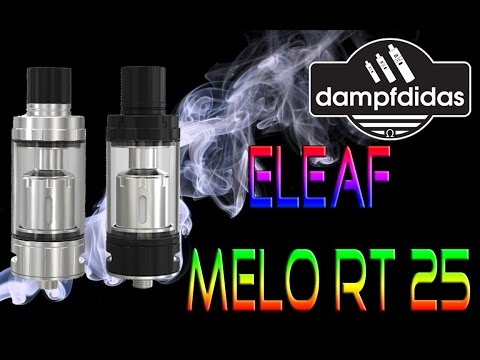 YouTube Video zu Eleaf Melo RT 25 Verdampfer 4.5 ml