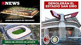Planean Demoler El San Siro Y Construir Un Nuevo Estadio Para Milan E Inter | Manynews