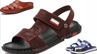NEW LATEST CASUAL AND FORMAL FOOTWEAR COLLECTION GENTS CHAPPAL SLIPPER SANDAL DESIGN