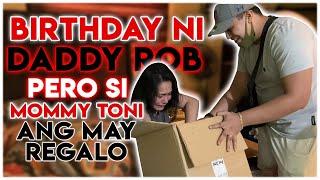 VLOG 073 BIRTHDAY NI DADDY ROB PERO SI MOMMY TONI ANG MAY REGALO 🎁
