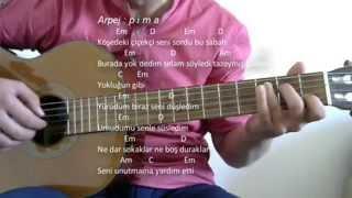 Gitar Dersi - Sen İstanbul'sun (Gökhan Türkmen)