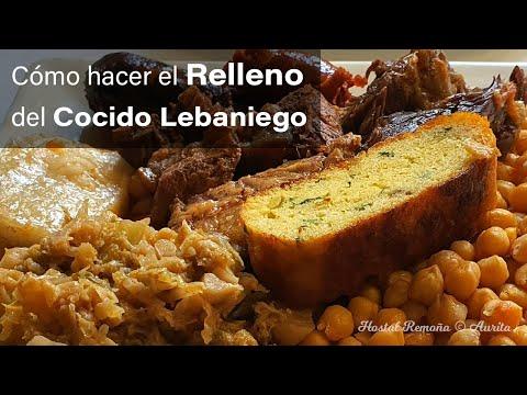 Receta de como hacer Relleno del Cocido por Aurita 👩🍳  Platos Tradicionales Gastronomía Cantabria