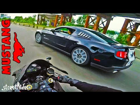 ЗАРУБА С МУСТАНГОМ | Форд Mастанг 5.0 В8 ГТ вс Хонда Фиребладе