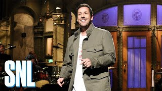 "Adam Sandler's ""I Was Fired"" Monologue - SNL"