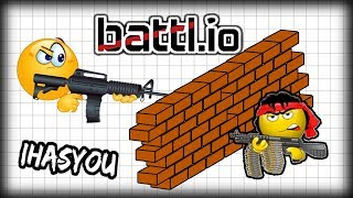 THIS IS WAR!! // BATTL.IO BEST NEW .IO GAME!! Game Review and Guide / Tips battl.io - iHASYOU