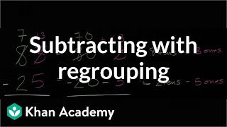 Introduction To Regrouping (borrowing)