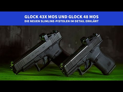 glock: Videopräsentation: GLOCK 43X MOS und GLOCK 48 MOS – ab Werk mit Shield Sights RMSc erhältlich