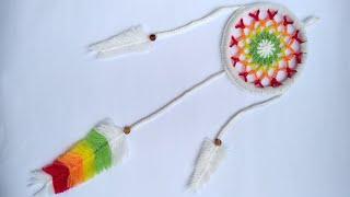 How to Crochet a Dream Catcher