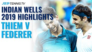 Dominic Thiem outlasts Roger Federer to win his first Masters 1000 title. Watch official ATP tennis streams all year round: http://tnn.is/YouTube  Tennis TV is the OFFICIAL live streaming service of the ATP Tour.  Subscribe to our YouTube channel here: https://www.youtube.com/tennistv?sub_...  Live streaming on PC, Mac, Apple TV, Roku, Amazon Fire TV, PlayStation 4, Xbox One, Chromecast & Android TV plus mobile & tablet apps on iOS & Android.