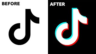 Insanely Easy Way To Recreate The TikTok Logo Effect