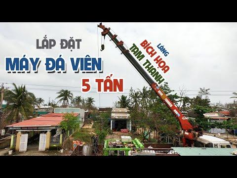 Cung cấp máy đá viên 5 Tấn đến Làng Bích Họa Tam Thanh (Quảng Nam)