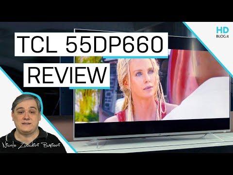 Recensione TV TCL 55DP660, l'Android TV HDR da battere nella fascia dei 600 Euro
