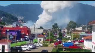 Explosión de juegos pirotécnicos causa alarma en San Cristóbal de Las Casas; no se reportan víctimas