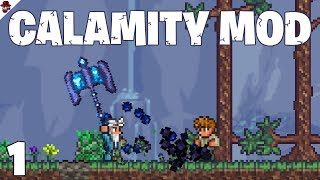 Terraria # 1 What Secrets Are Hidden? - Calamity Mod Let's Play