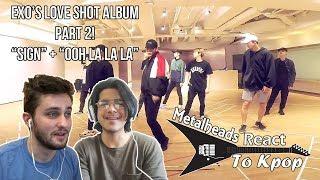 Gambar cover Metalheads React to Kpop | EXO's 'Love Shot' album Part 2