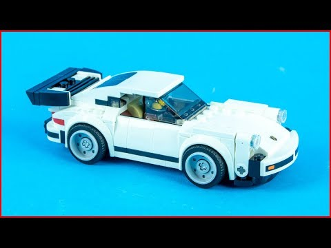 LEGO SPEED CHAMPIONS 75895 1974 Porsche 911 Turbo 3.0 - Making Speed Build
