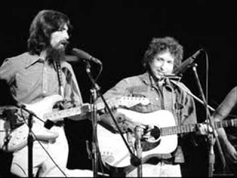 Bob Dylan and George Harrison Gates of eden
