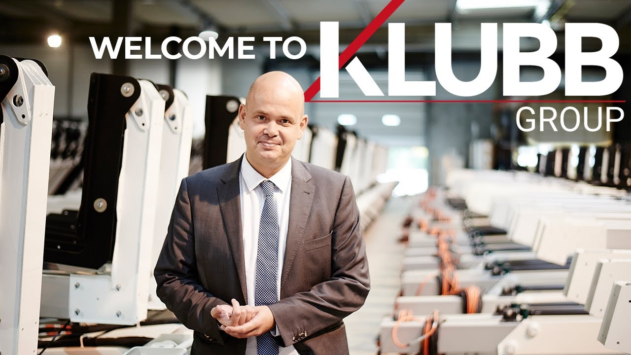 TheKLUBB rangeof aerial platforms is manufactured in 3 modern industrial facilities in France.-video
