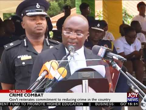 Crime Combat - The Pulse on JoyNews (4-5-18)