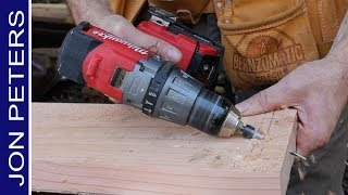 How to Drill and Drive Screws at an Angle - Quick Tip