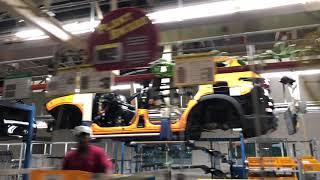 2019 Hyundai Santa Fe Media Introduction, Quick Tour of Plant