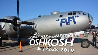 RV Aircraft Video - Oshkosh! - AirVenture 2019 is right around the Corner!