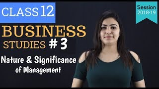 levels of management class 12 - part 3
