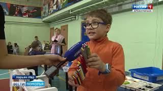 Первый детский турнир по робототехнике прошёл в Нарьян-Маре