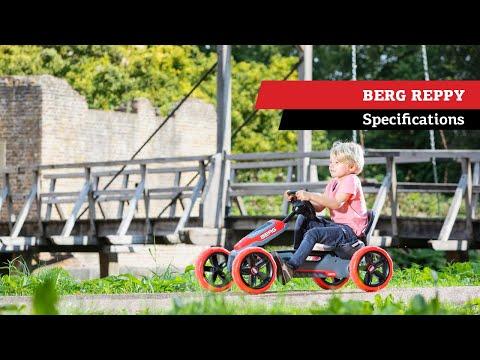 Quad infantil a pedales Berg Reppy Rider