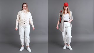 How To Look Slimmer and Taller In White   14 Outfits & Tips