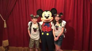 Mickey Mouse helps with adoption surprise!