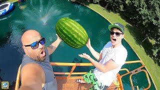 DONT DROP the Watermelon from 45FT!