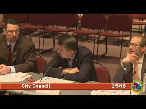 City Council Work Session 2.5.18