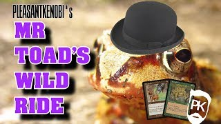 Mr Toad's Wild Ride   MTG Legacy Deck Tech And Gameplay