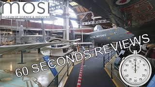 preview picture of video 'Museum of Science and Industry Manchester - Mosi review done in 60 seconds.'