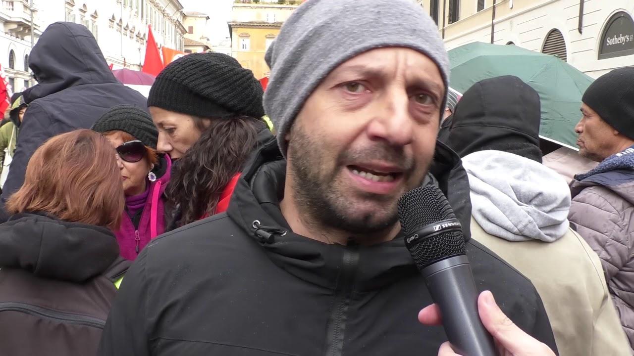 Sgomberi e proteste a Roma